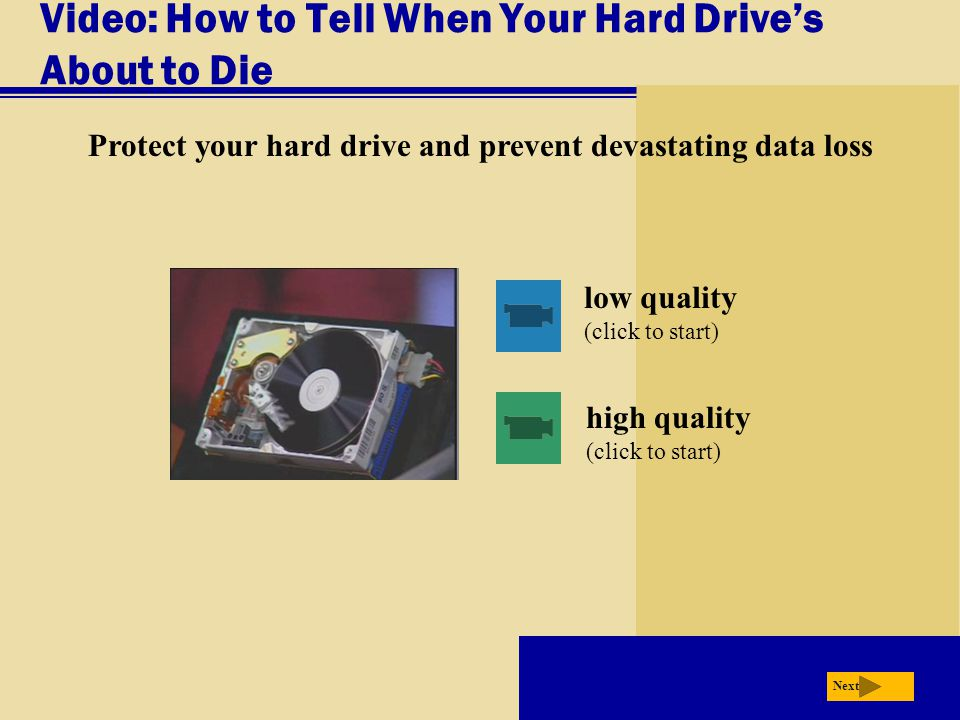 Video: How to Tell When Your Hard Drive's About to Die