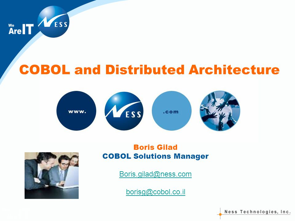 the past present and future of cobol Oo cobol demonstration  net for cobol programmers: lesson 6-8  ada, past present and future - duration: 44:59.