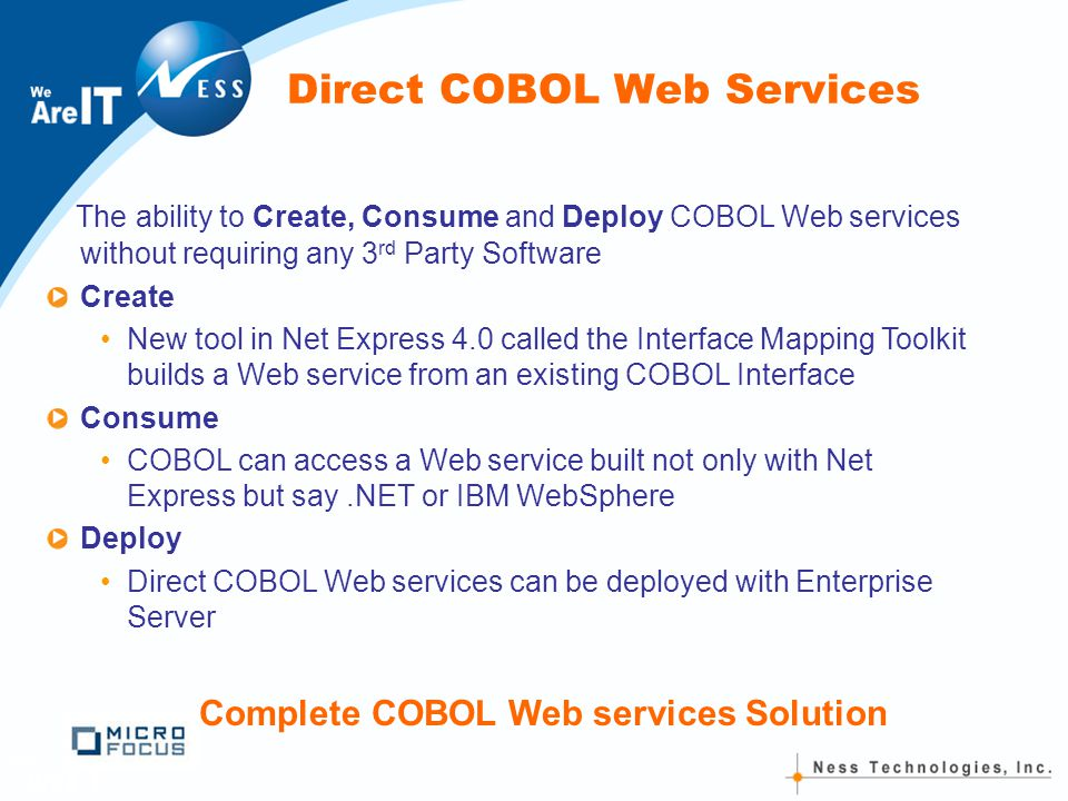 direct access to files in cobol The access (record transmission) mode allowed for sequential files is  the  actual physical arrangement of the records in the file is not significant to your  cobol program  direct-access storage devices provide greater flexibility in  the file.