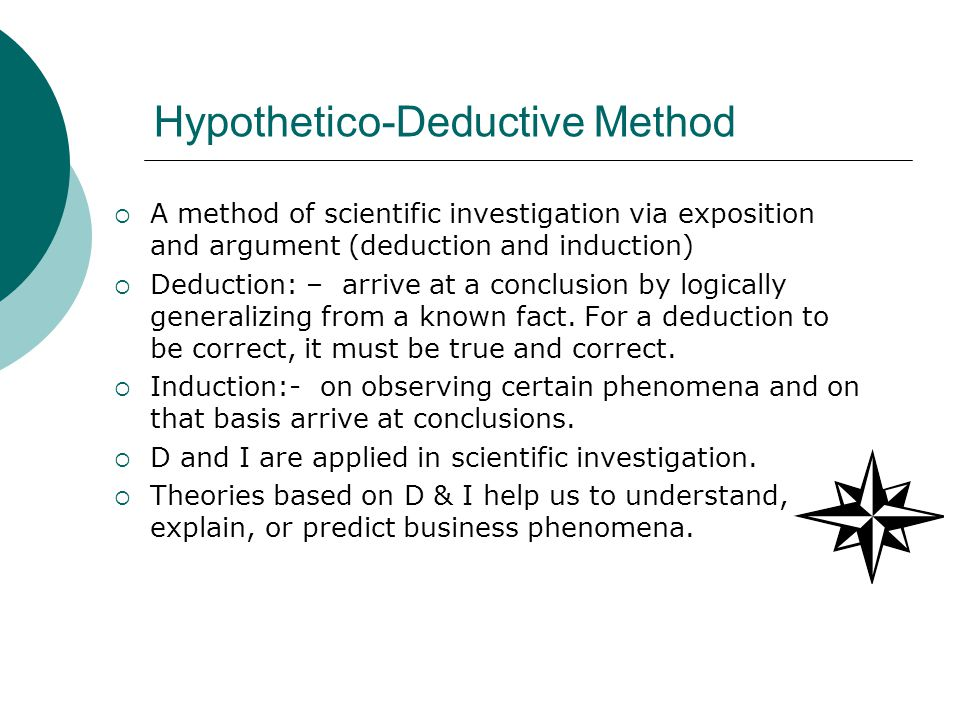 scientific method and inductive argument b Which of the following scenarios fits the approach of the scientific method label as inductive or deductive reasoning a an auto mechanic listens to how a car runs and comes up with an idea of what might be wrong.