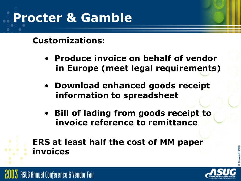 Sales Invoice Sample Ers Consignment And Electronic Invoices Session Ppt Video Online  Army Hand Receipt with Receipt Paper Walmart Procter  Gamble Customizations Produce Invoice On Behalf Of Vendor Blank Invoices Template Pdf