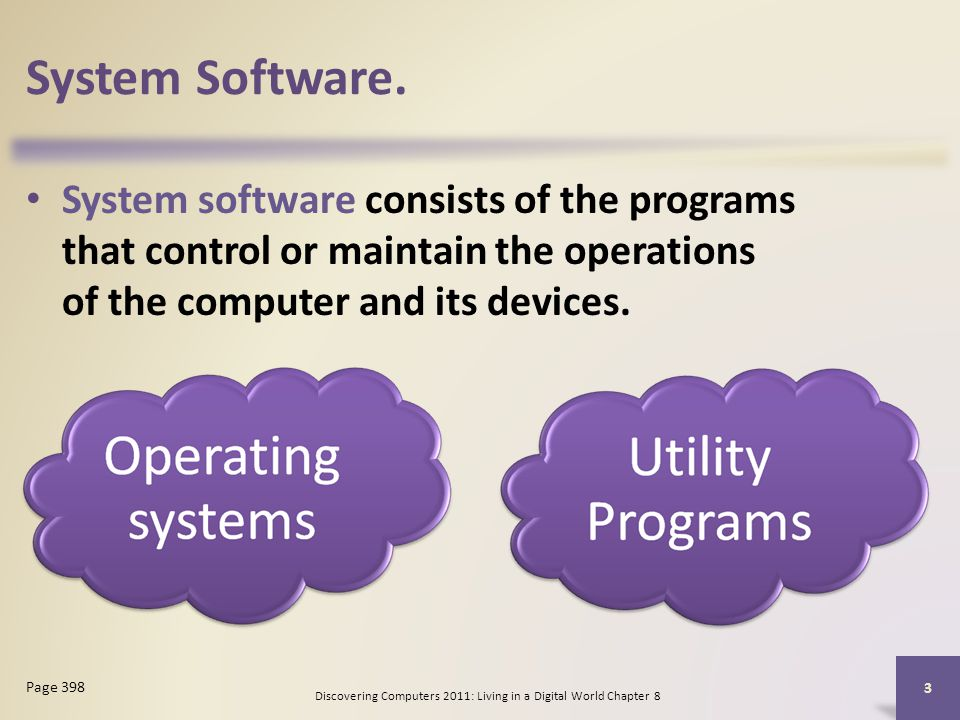 personal computer and digital world chapter Presentation on theme: living in a digital world discovering computers 2010   24 stand-alone operating systems dos – developed in the early 1980s for  personal computers  chapter 8: operating systems and utility programs.