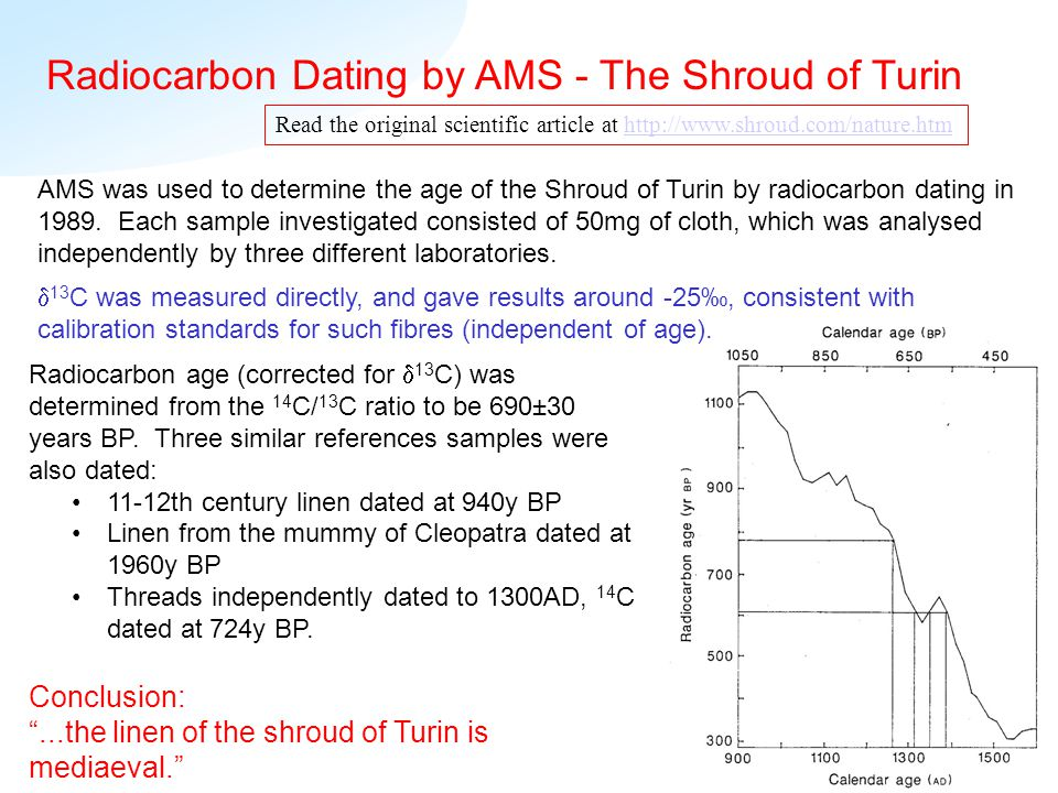 what is ams radiocarbon dating The possibility of radiocarbon dating would not have existed, had not  as  noted in the reviews by gove and beukens, the ams revolution has.