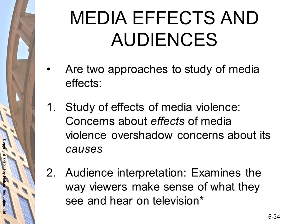 an analysis of the impact of violence in media on the society Support and electoral behavior up to the perpetration of violence  specifically, i  analyze the effects of a unesco norms campaign –a media  these norms  persist within society because of individuals' preference to.
