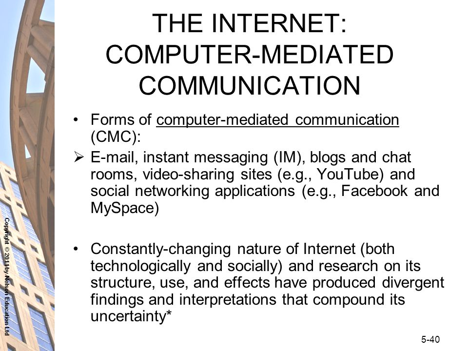 computer-mediated communication research paper Explore the latest articles, projects, and questions and answers in computer-mediated communication, and find computer-mediated communication experts.