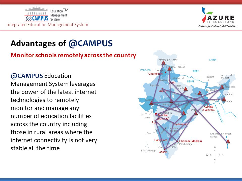 Advantages Of Internet Monitor System : From integrated education management system ppt download