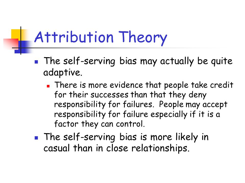 Attribution Theory Essays (Examples)