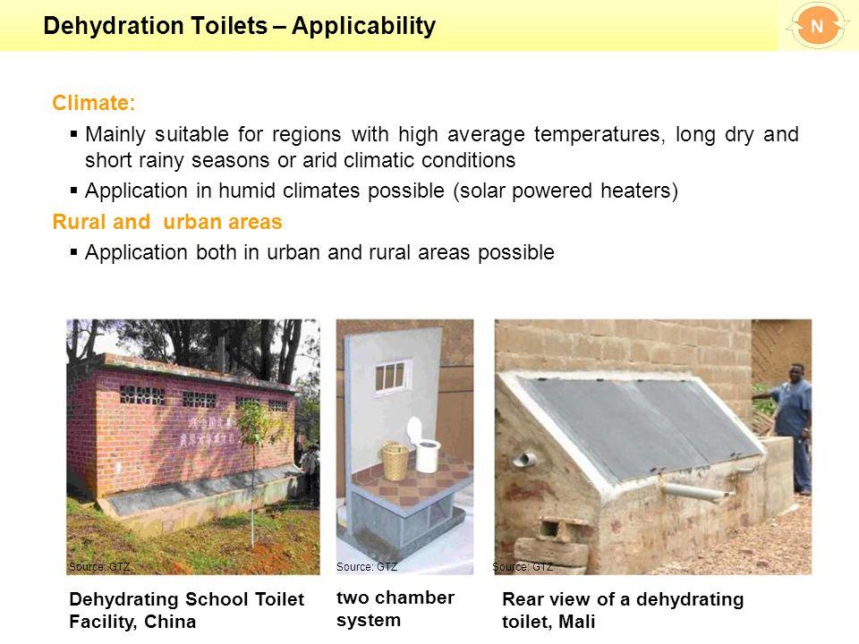 33 Dehydration Toilets U2013 Applicability