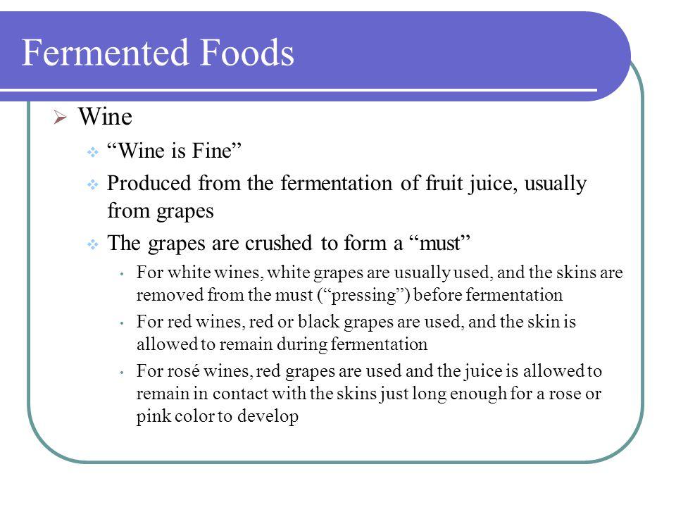 fermentation of fruit juices pdf