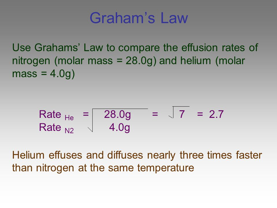 Chapter 14 Properties of Gases - ppt download