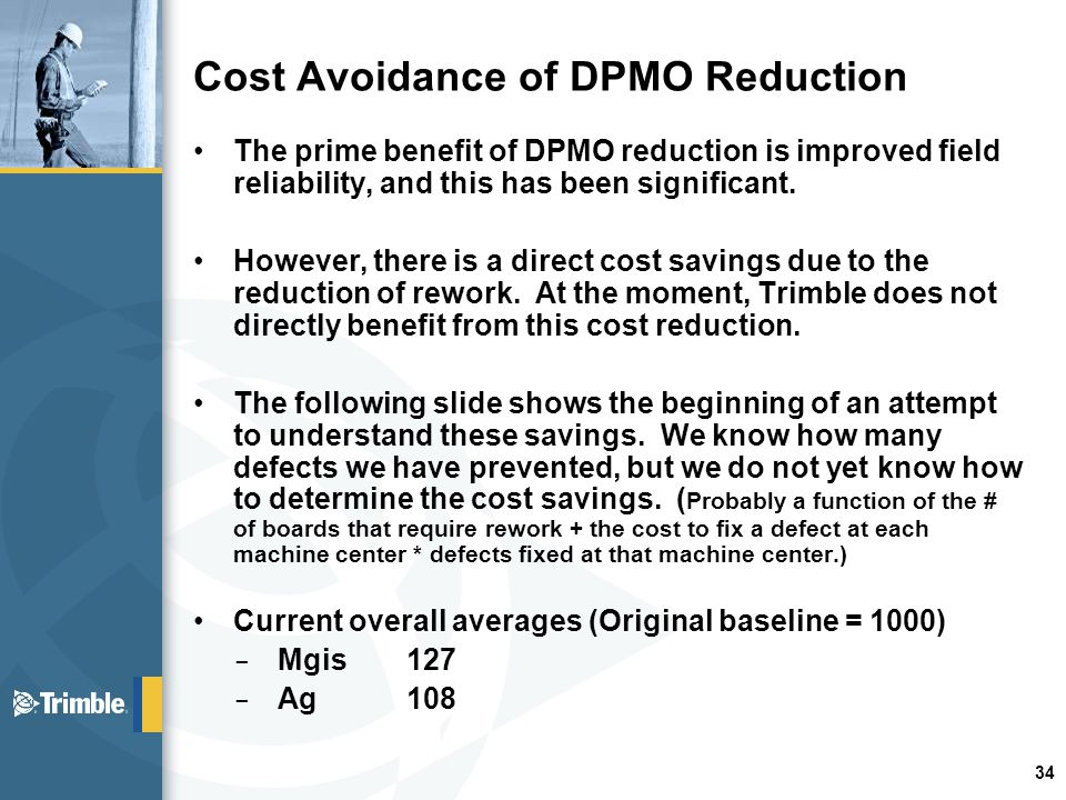 cost reduction and cost avoidance Some examples of cost avoidance measures are: a reduction of a proposed price increase from a vendor, the elimination of the need for additional headcount through process improvements, or a change in maintenance schedules for critical equipment to avoid work stoppages.