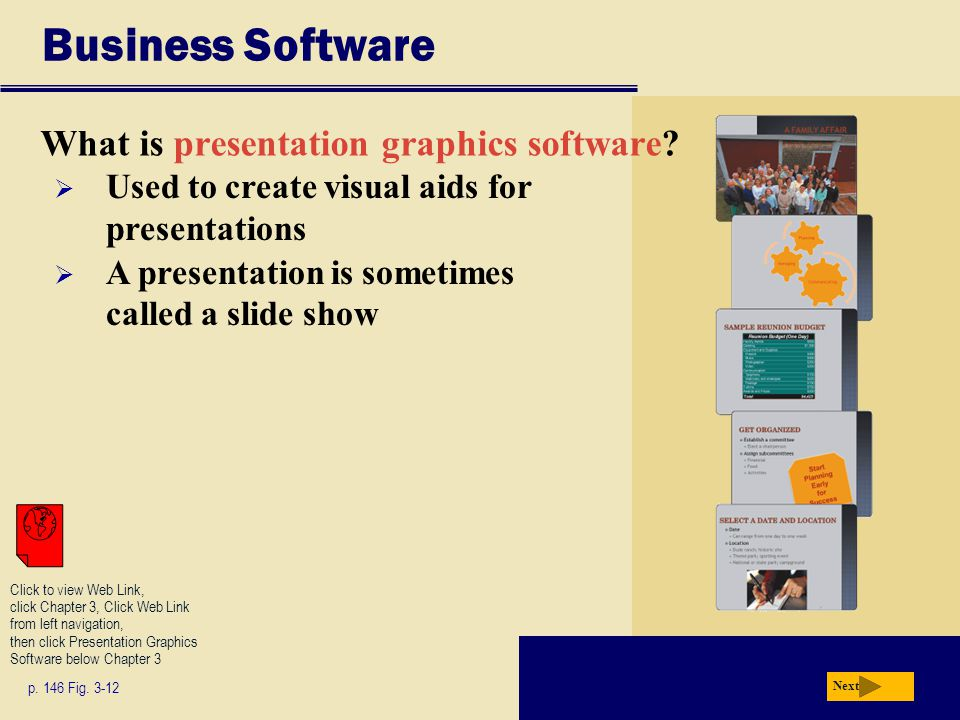 Business Software What is presentation graphics software