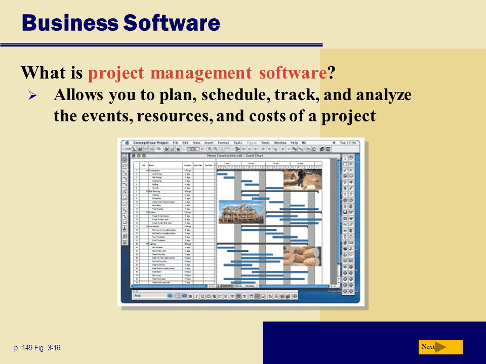 Business Software What is project management software