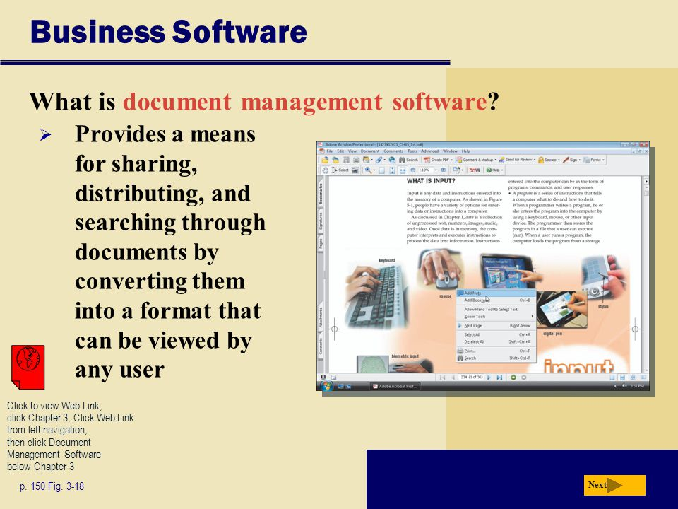 Business Software What is document management software