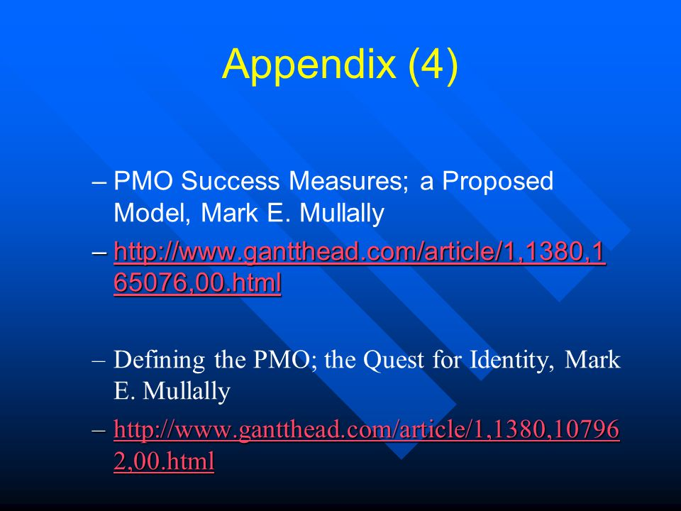 Creating A Pmo Charter Dr Gary J Evans Pmp Ppt Video