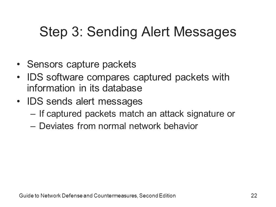 Step 3: Sending Alert Messages