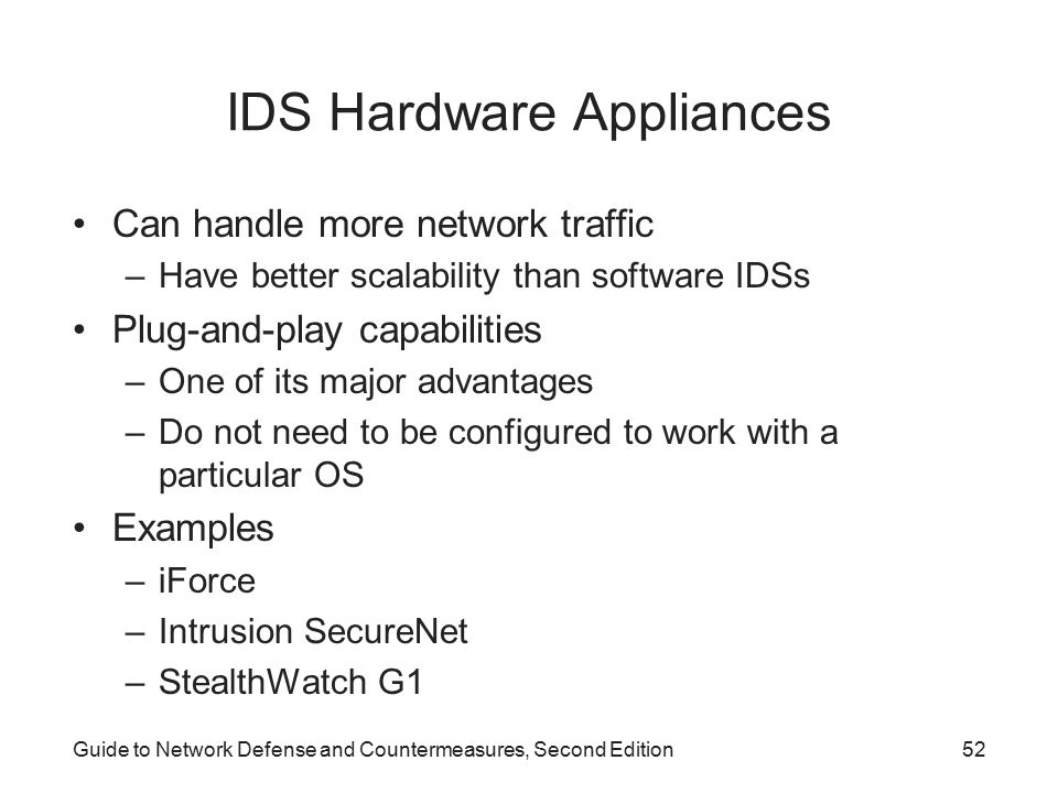 IDS Hardware Appliances