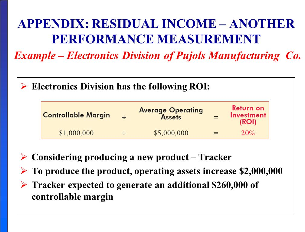 Residual Income: The Disadvantages of Residual Income