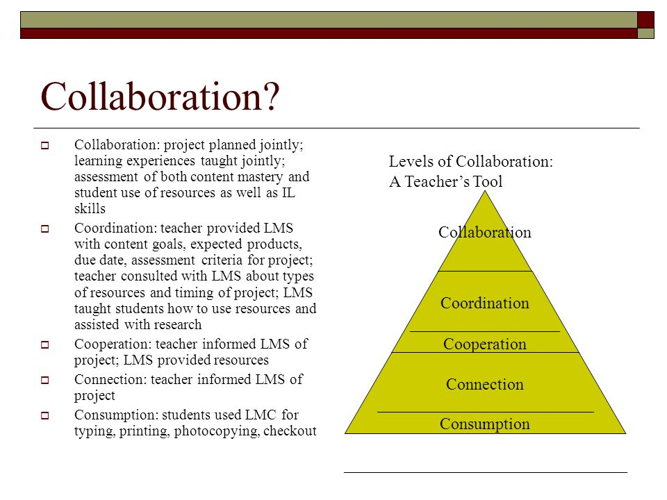 Collaborative Teaching Goals : Redefining school libraries in the age of ppt video online