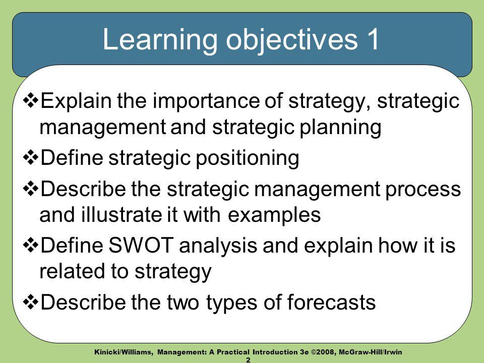 explain strategy management process