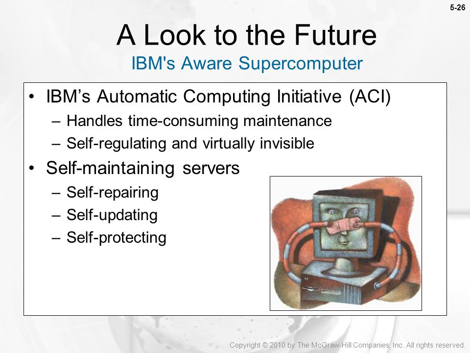 A Look to the Future IBM s Aware Supercomputer