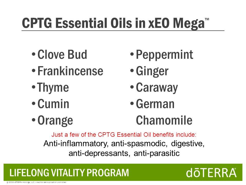 CPTG Essential Oils in xEO Mega™