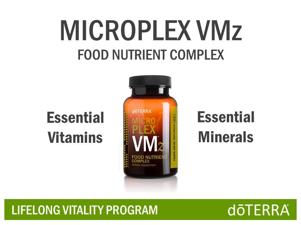 MICROPLEX VMz Essential Minerals Essential Vitamins