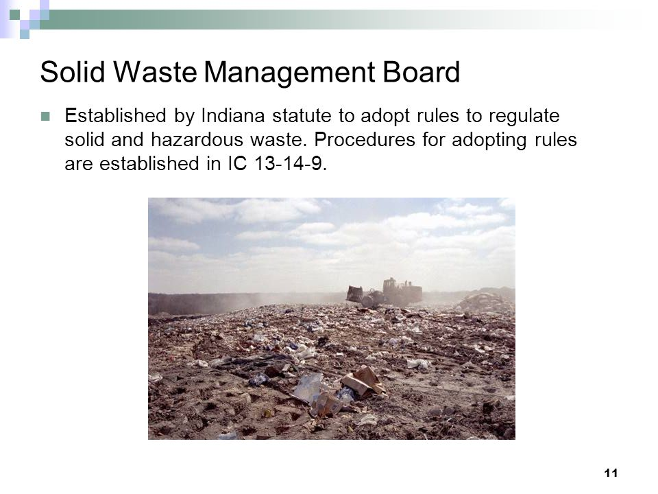 Solid Waste Management Board