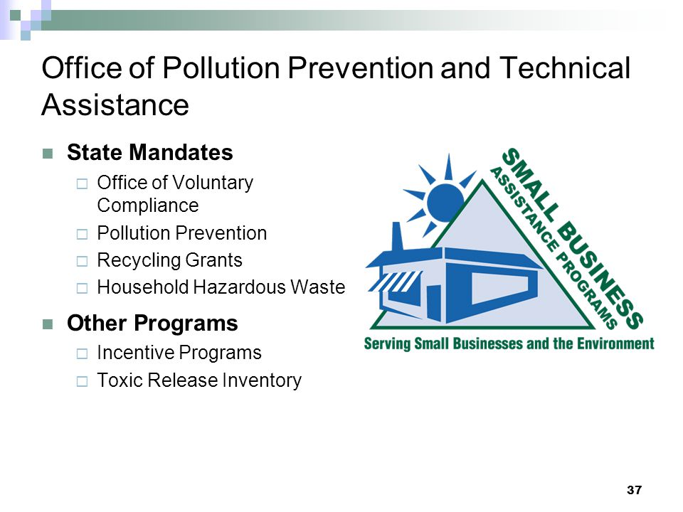 Office of Pollution Prevention and Technical Assistance