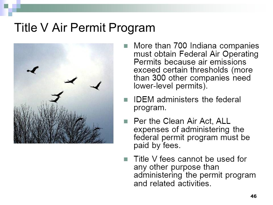 Title V Air Permit Program