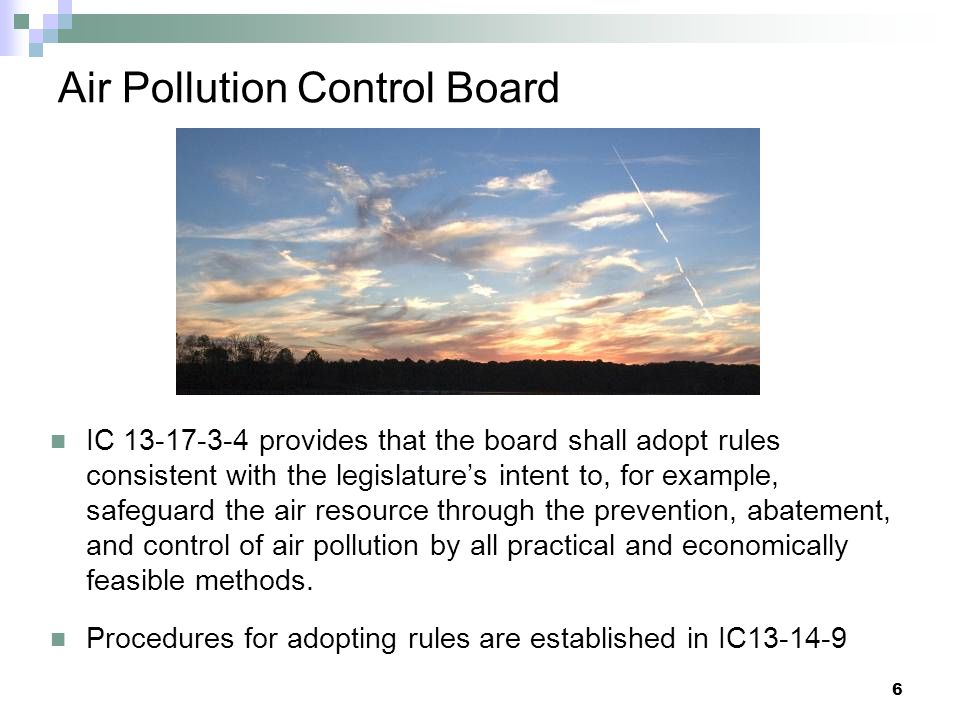 Air Pollution Control Board