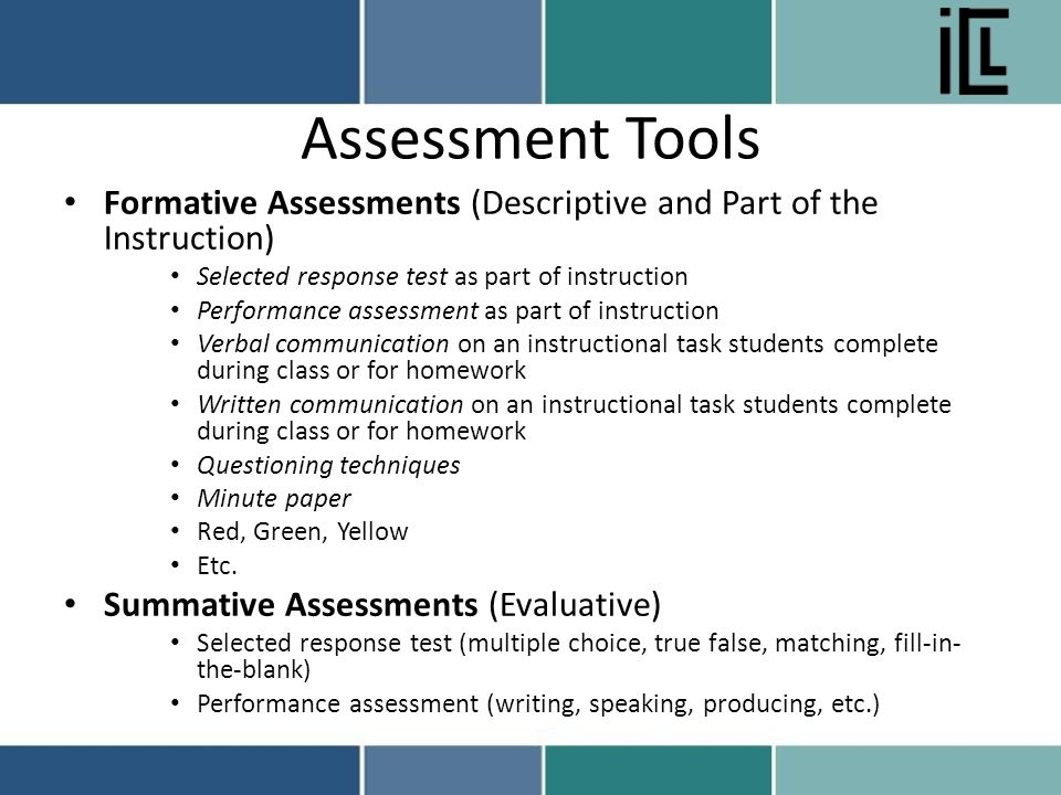 Online writing assessment tools