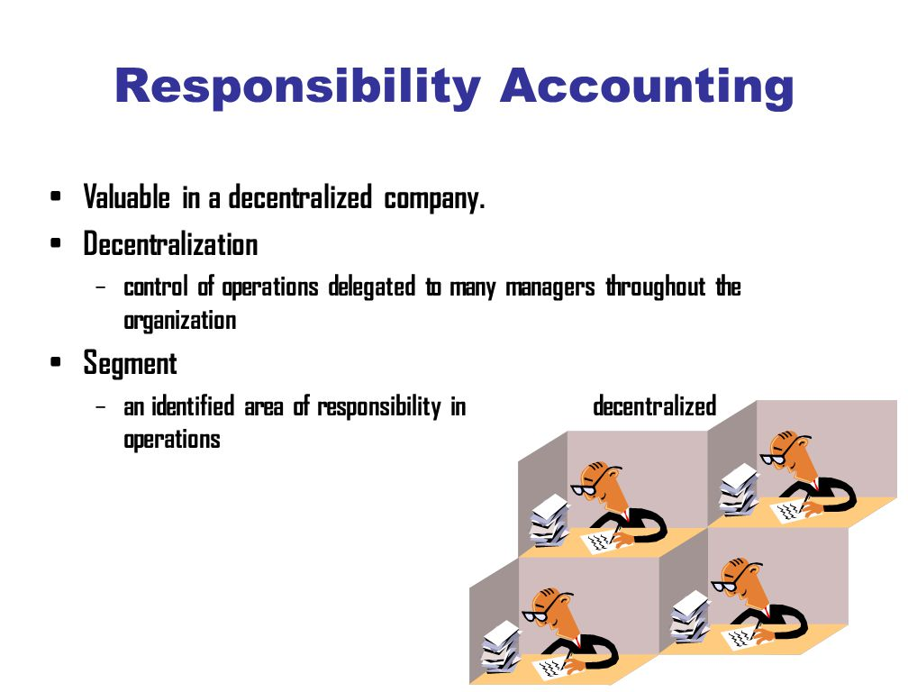What is Responsibility Accounting?