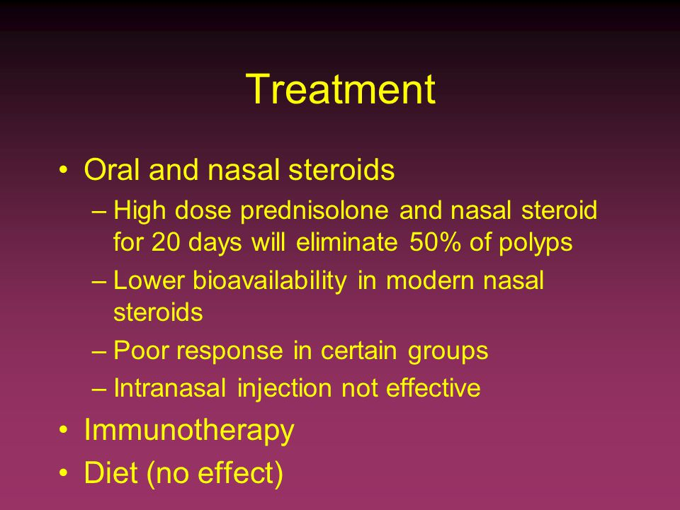 high dose oral steroids side effects