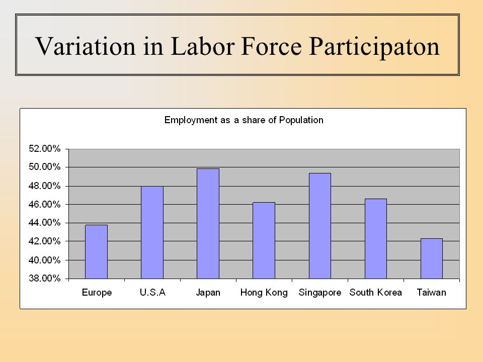 Variation in Labor Force Participaton