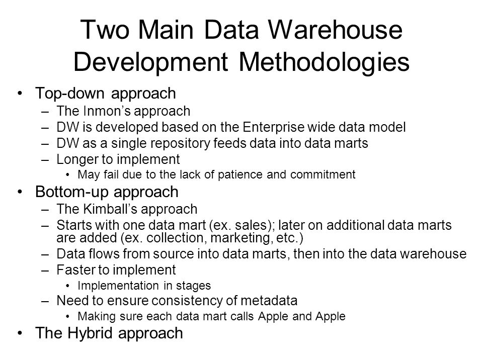 Introduction To Data Warehouses Ppt Download
