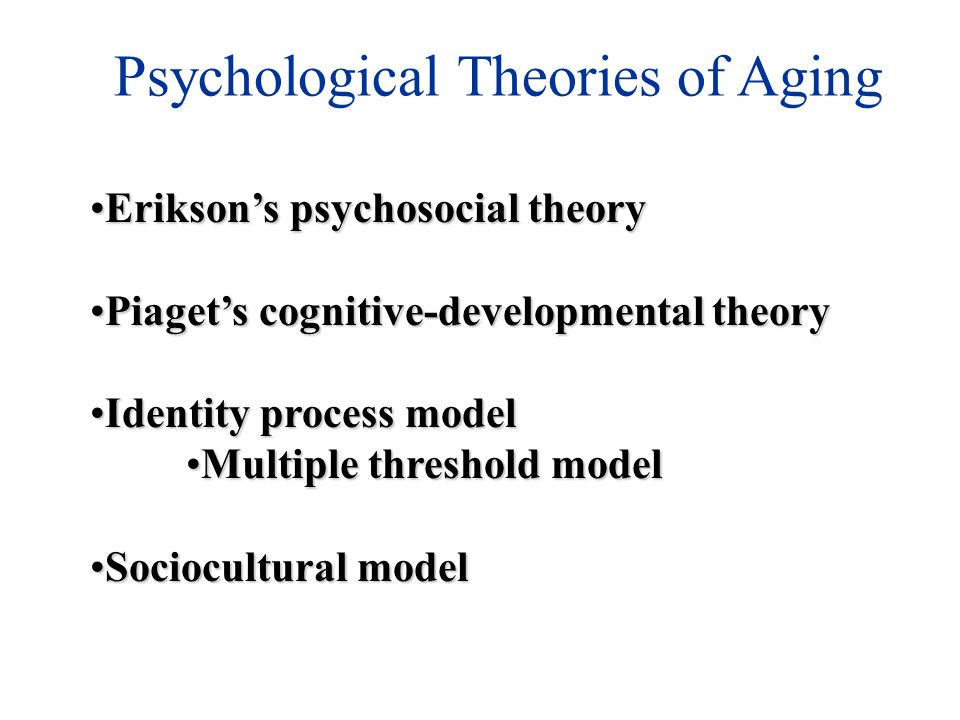 cognitive and psychosocial theories Piaget (1936) was the first psychologist to make a systematic study of cognitive development his contributions include a stage theory of child cognitive development, detailed observational studies of cognition in children, and a series of simple but ingenious tests to reveal different cognitive abilities.