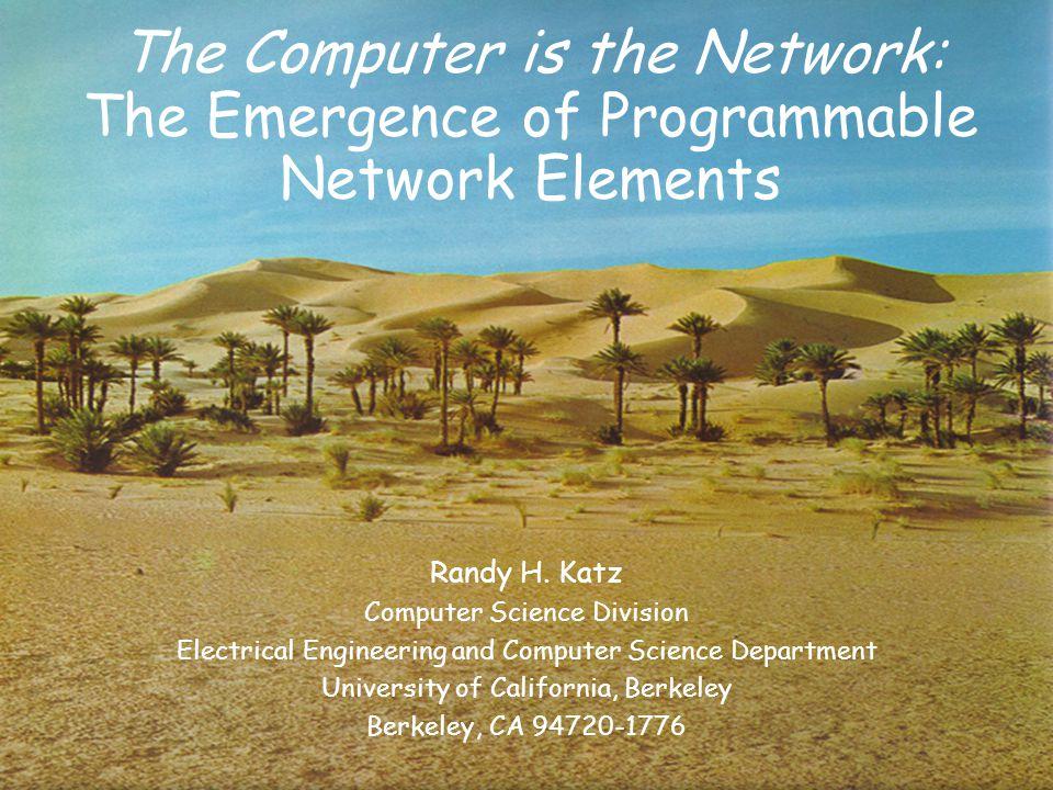 Randy h katz computer science division ppt download - Div computer science ...
