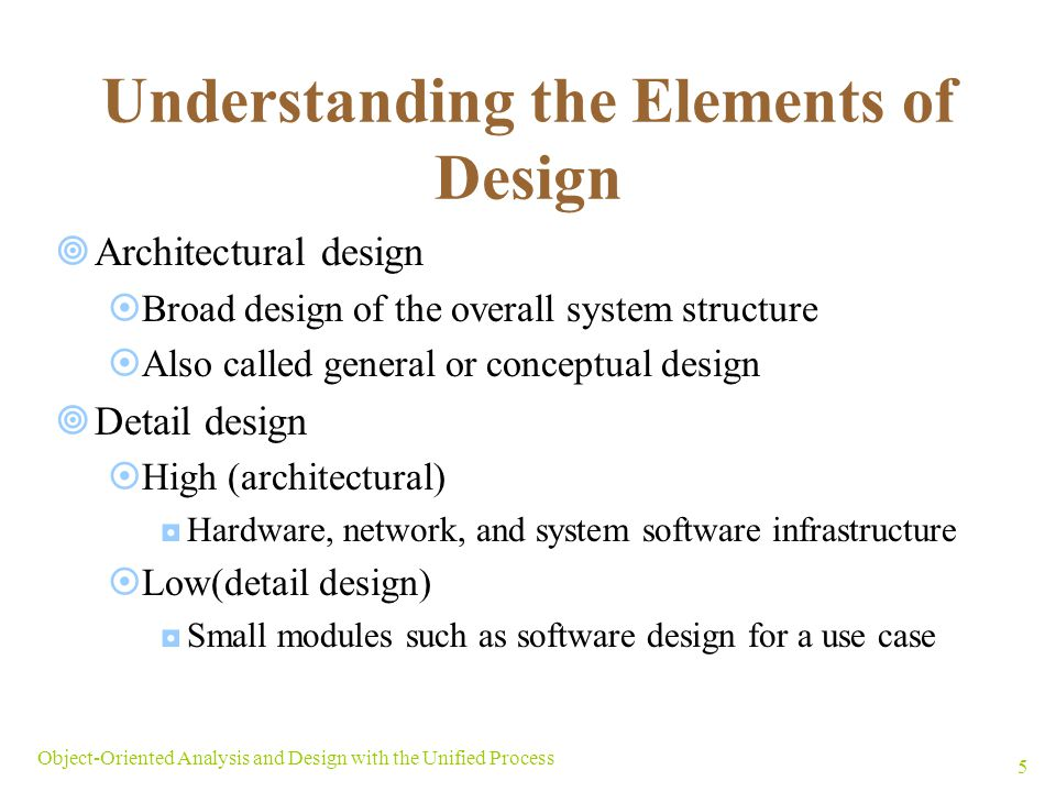 Understanding the Elements of Design