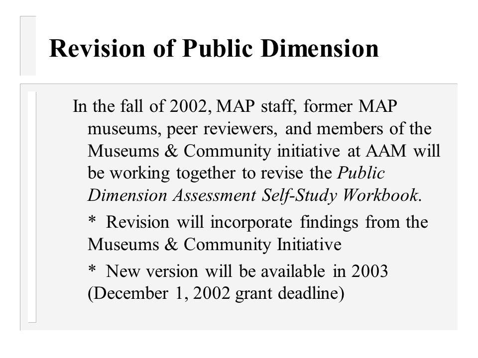 Revision of Public Dimension