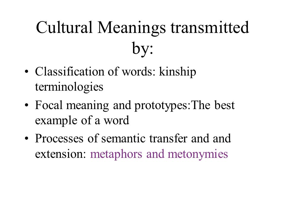Extended And Transferred Meaning Metaphor And Metonymy Ppt Video