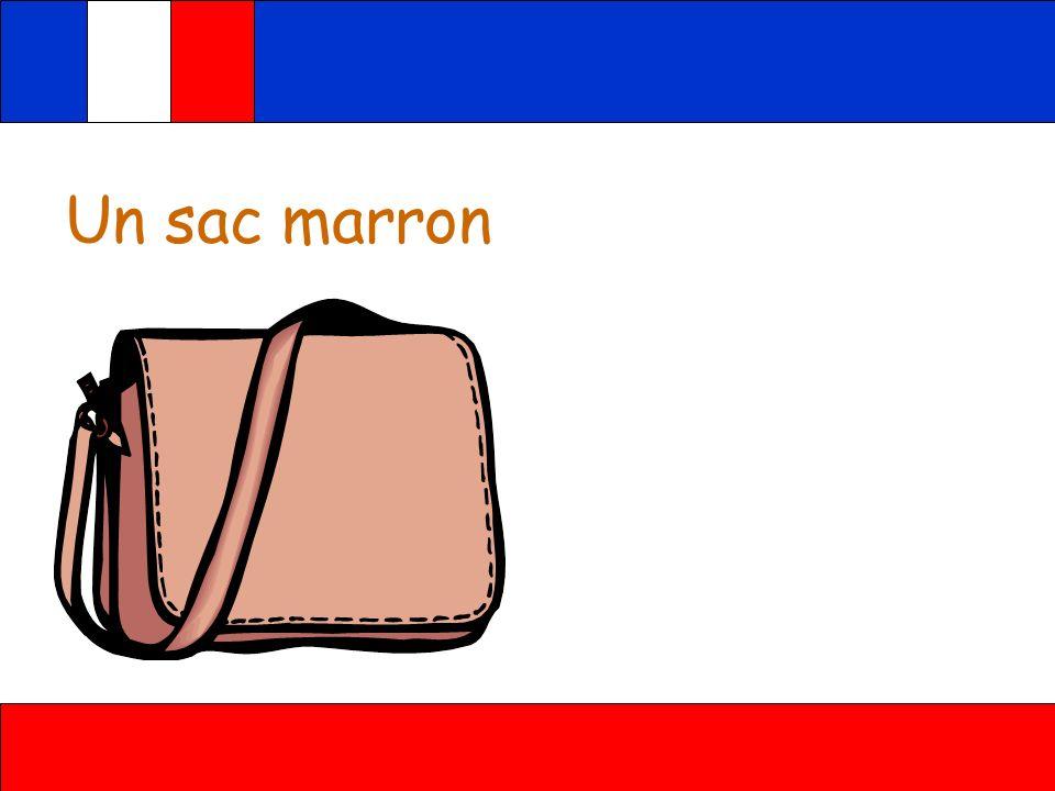 Un sac marron
