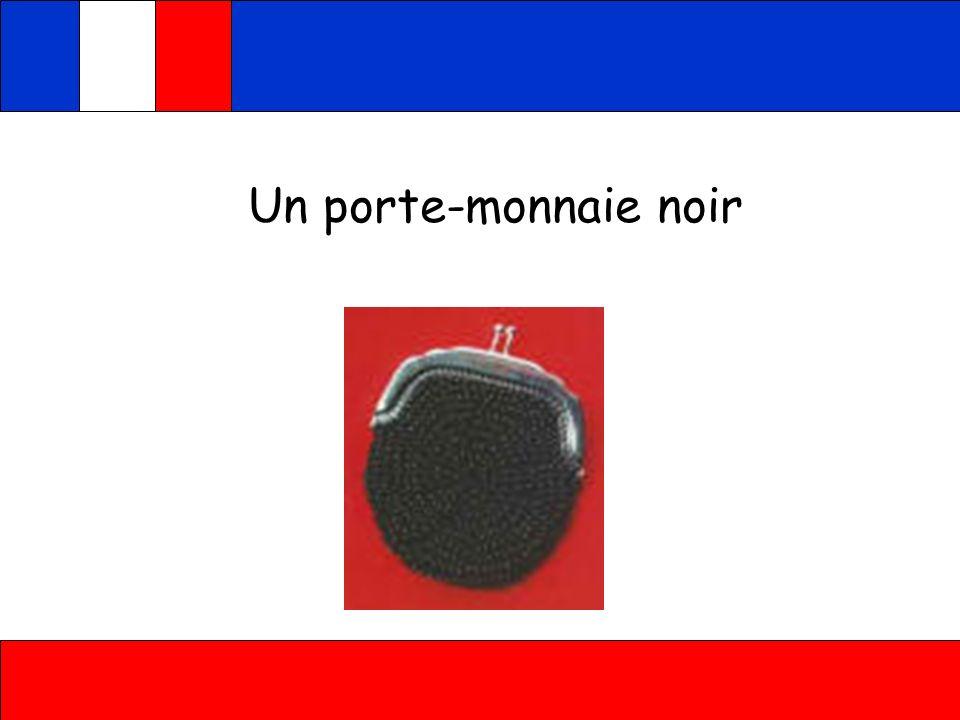 Un porte-monnaie noir