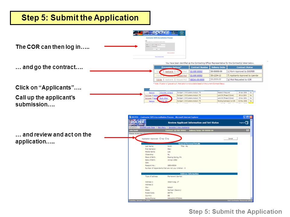 cic online application processing submission