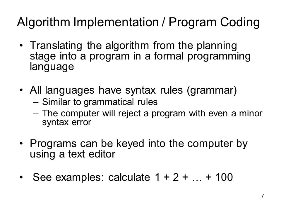 Module 10 Programming ___tell computers what to do - ppt download