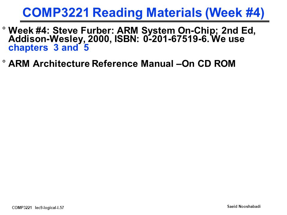 COMP3221 Reading Materials (Week #4)