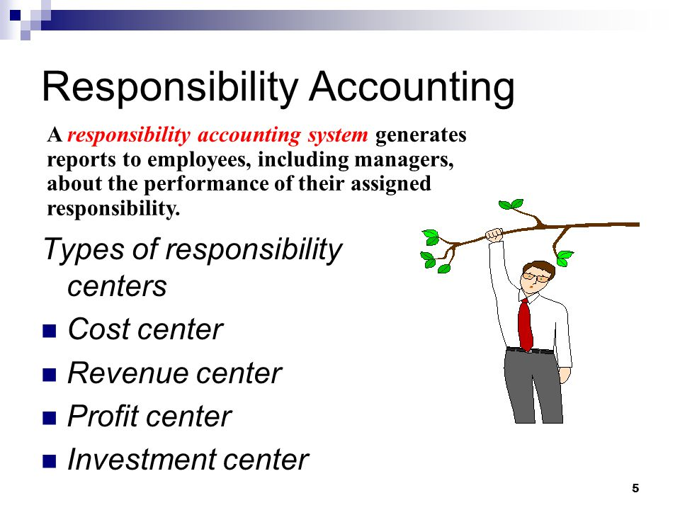Responsibility Accounting Ppt Video Online Download