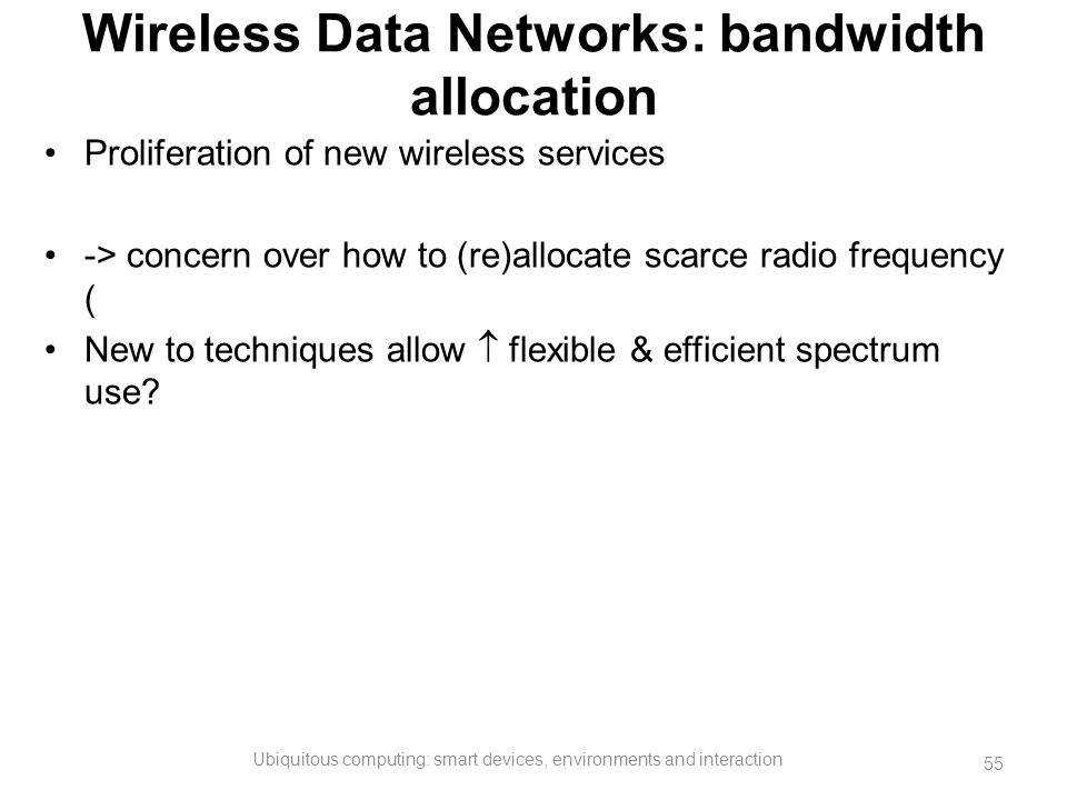 study bandwidth wireless data For more than 15 years, pew research center has documented its growth and   data for each year based on a pooled analysis of all surveys.