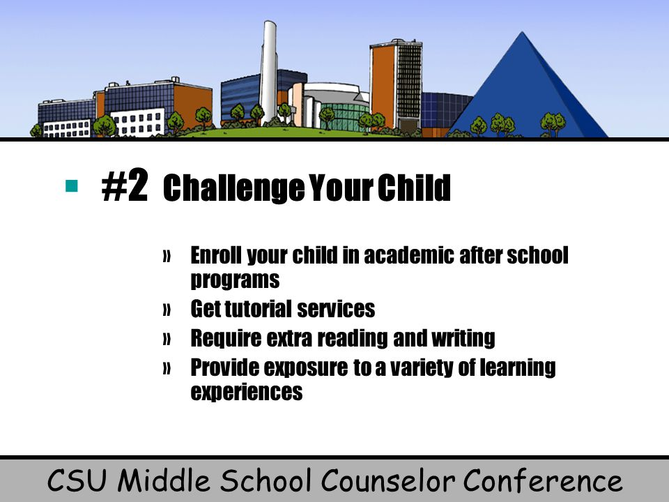 CSU Middle School Counselor Conference
