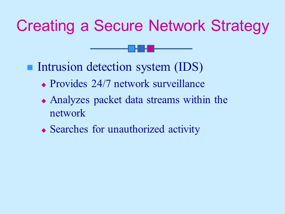 Creating a Secure Network Strategy